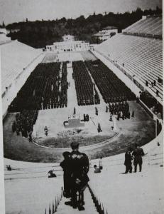 Ο Γερμανικός στρατός στο Παναθηναϊκό στάδιο