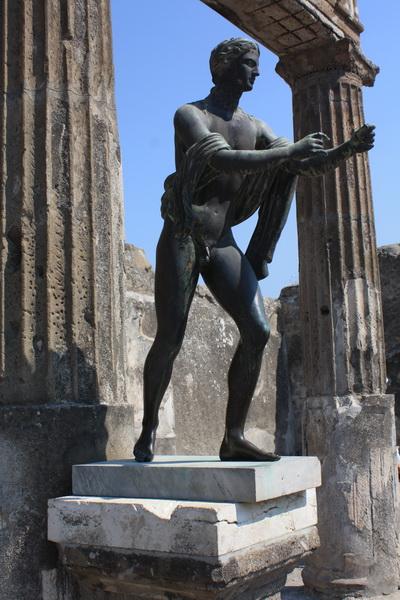 Θεός Απόλλωνας, Πομπηία