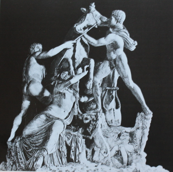 Ο Αμφίων και ο Ζήθος δένουν την Δίρκη στον ταύρο (Απολλώνιος, Ταυρίσκος)