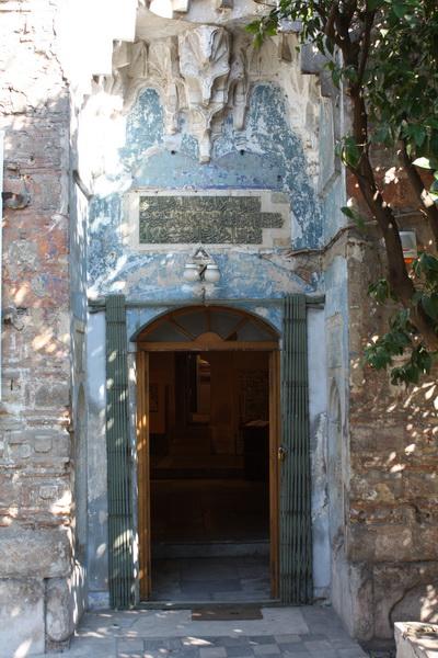 Η είσοδος του Μπέη Χαμάμ στη Θεσσαλονίκη