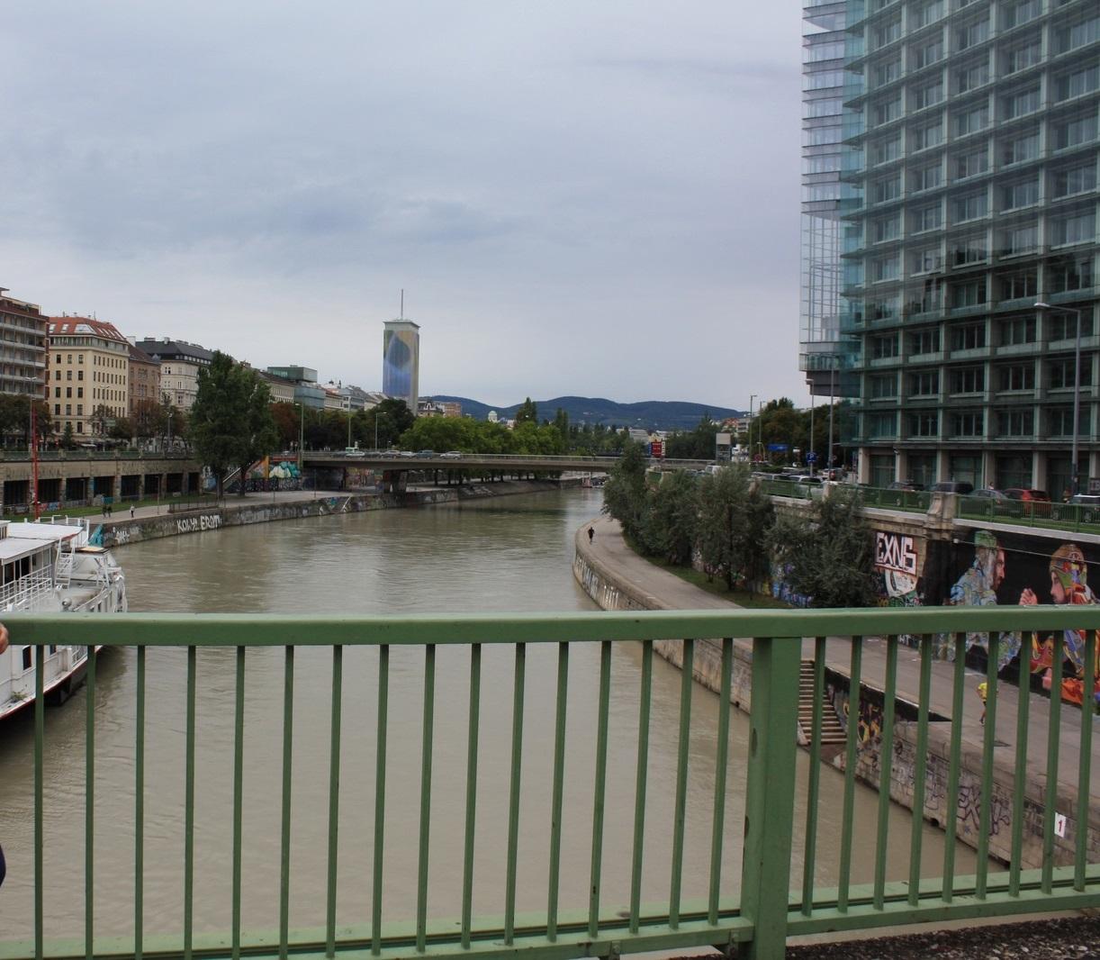 Ο Δούναβης στην Βιένη